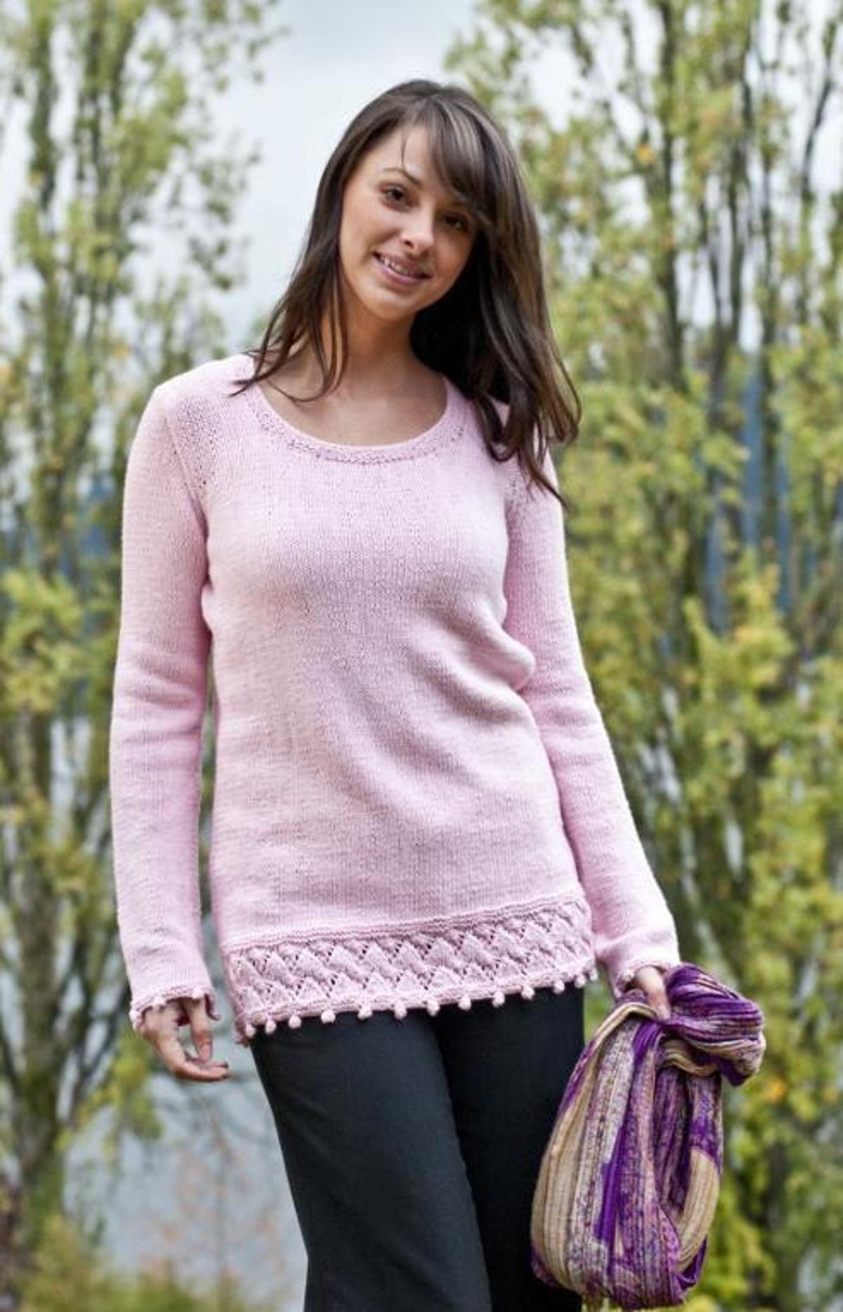 Springtime Tunic | Craftsy | Sweater knitting patterns ...