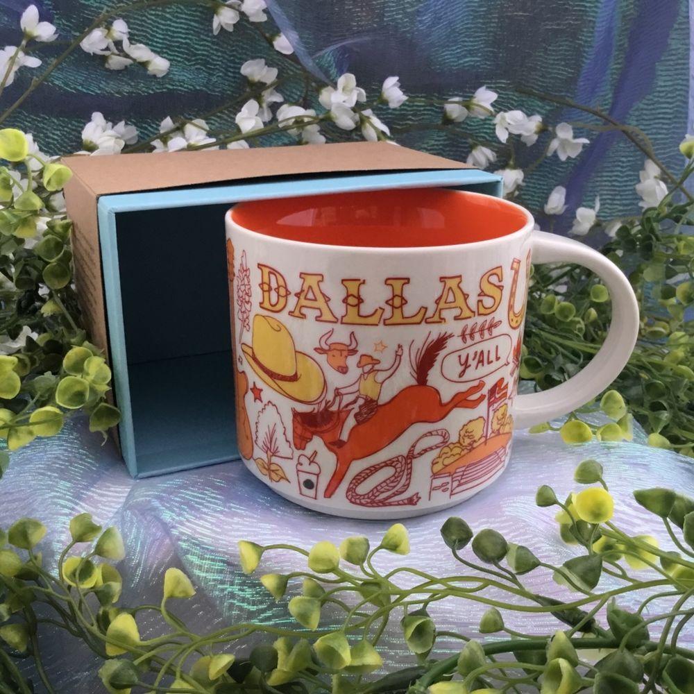 Series Nwt 2018 There Starbucks Been Mug Collection Ceramic Dallas A5cR3L4jq