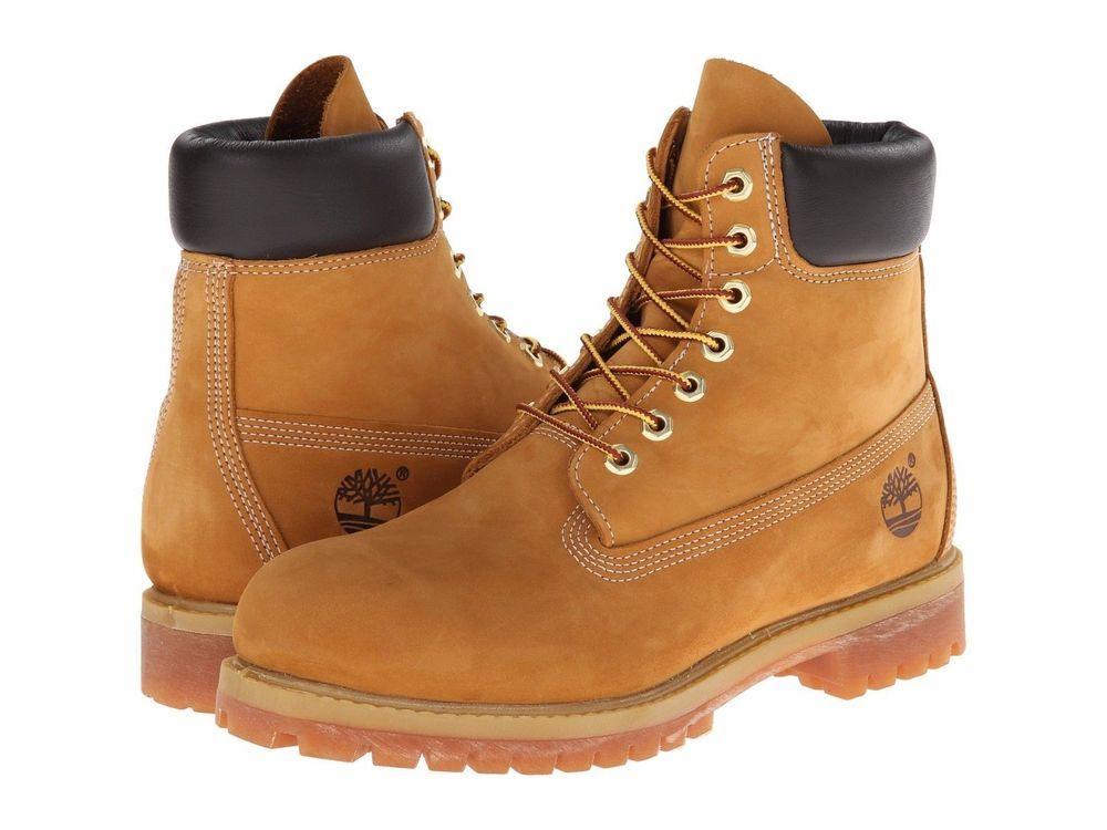 Timberland 6-INCH Premium Wheat Nubuck Leather Waterproof Boots: 6.5 M NIB  $190