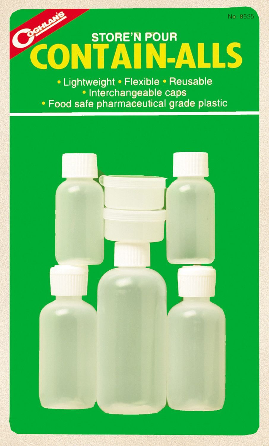 Store and Pour Contain-Alls Plastic Containers