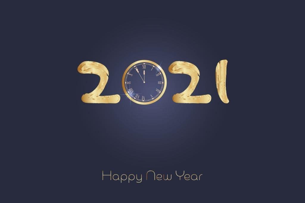 Unique Happy New Year Wallpaper 2021 In 2020 Happy New Year Wallpaper Happy New Year Images Happy New