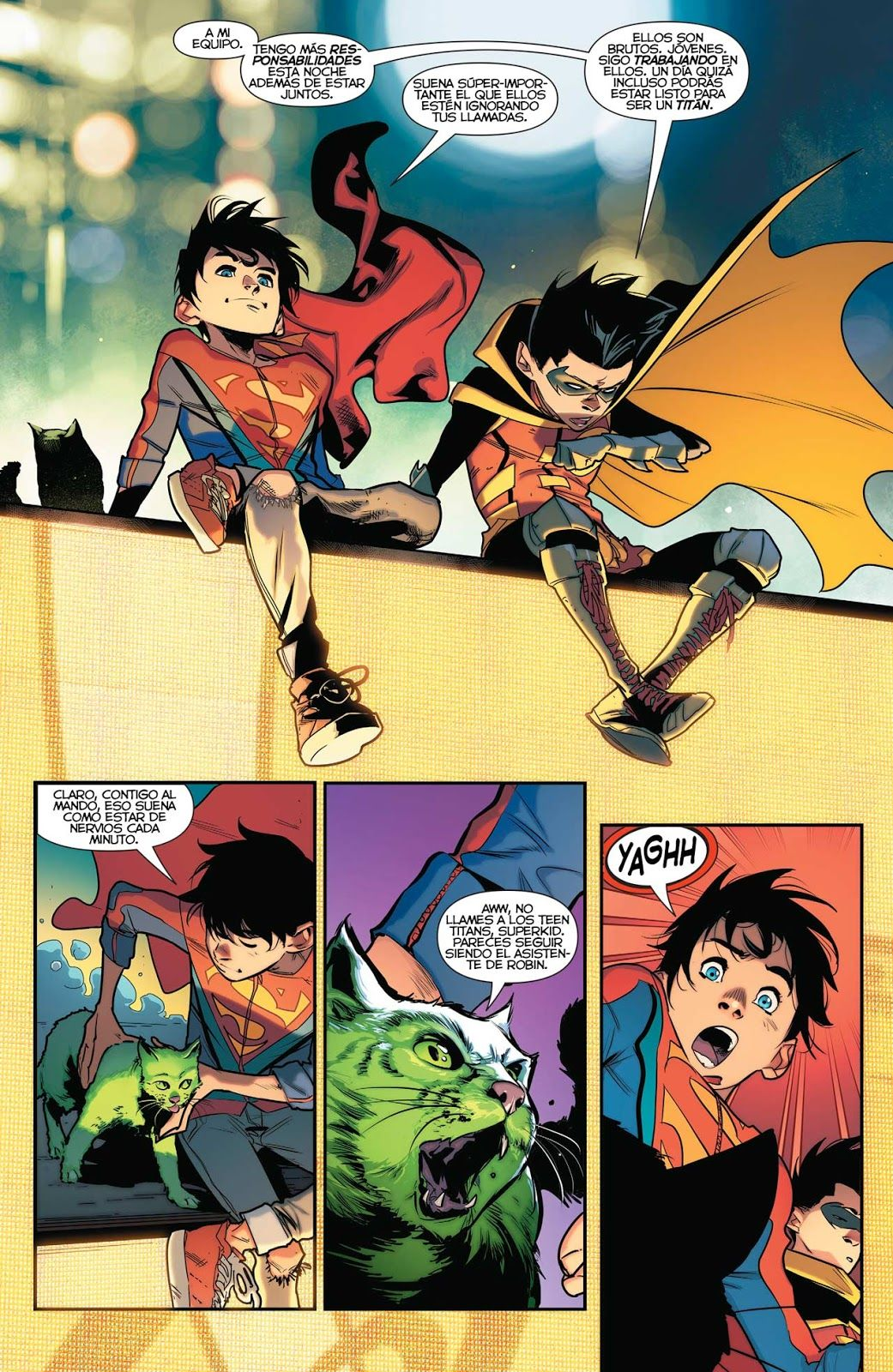 Super Sons jimenez, Cómics, Heroe