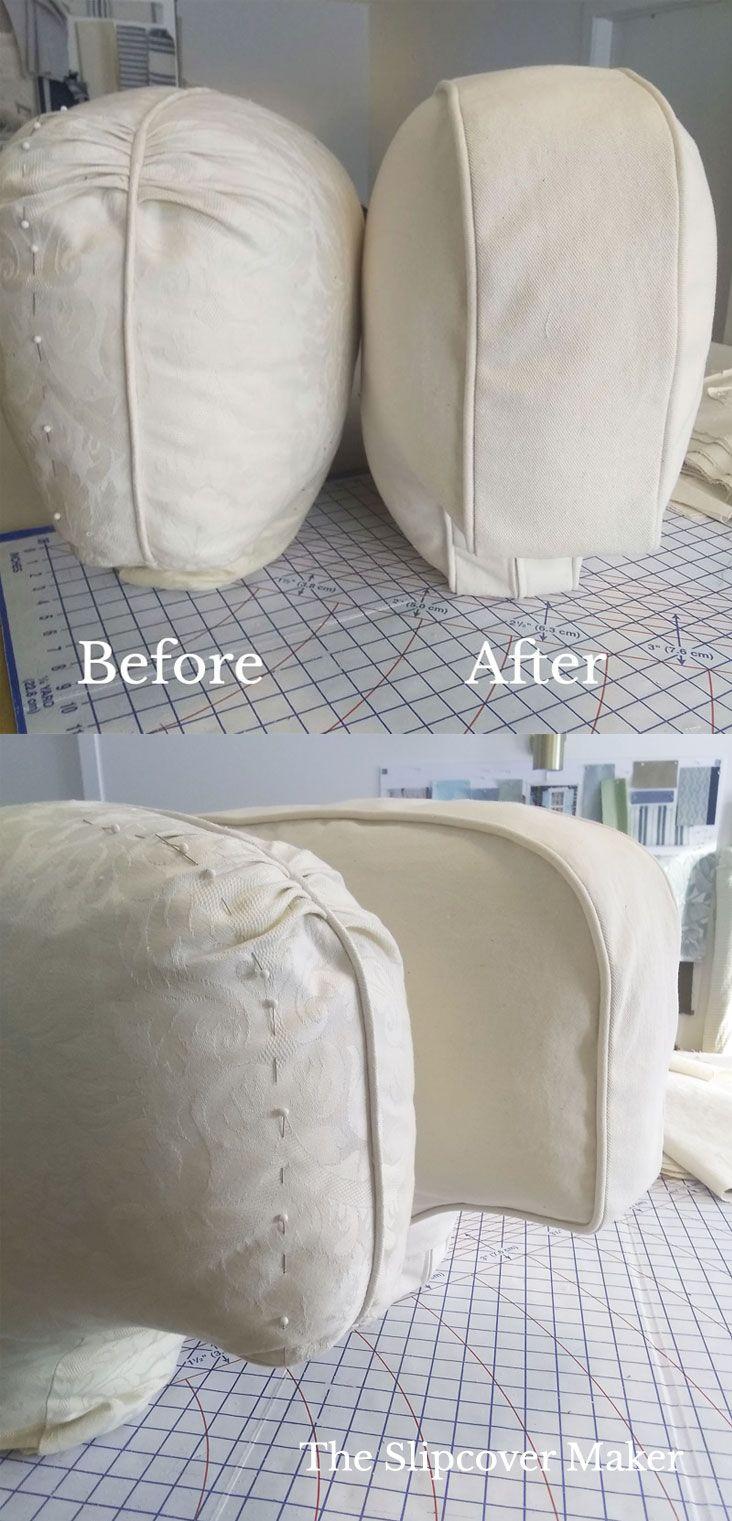 Slipcover Maker News My New Ebook Hemp Fabrics Cushion Makeover Tip In 2020 Slipcovers Cushion Fabric Hemp Fabric