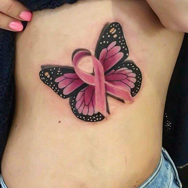 Photo of 40 fantastische Tätowierungen für Brustkrebsbewusstsein – Dieses Schmetterling …