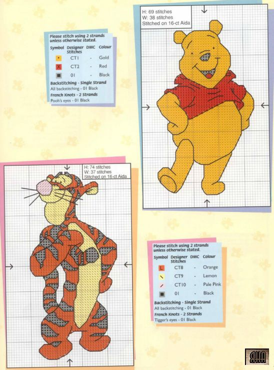 Greeting cards book 411 disney pinterest tigger cross stitch greeting cards book 411 m4hsunfo