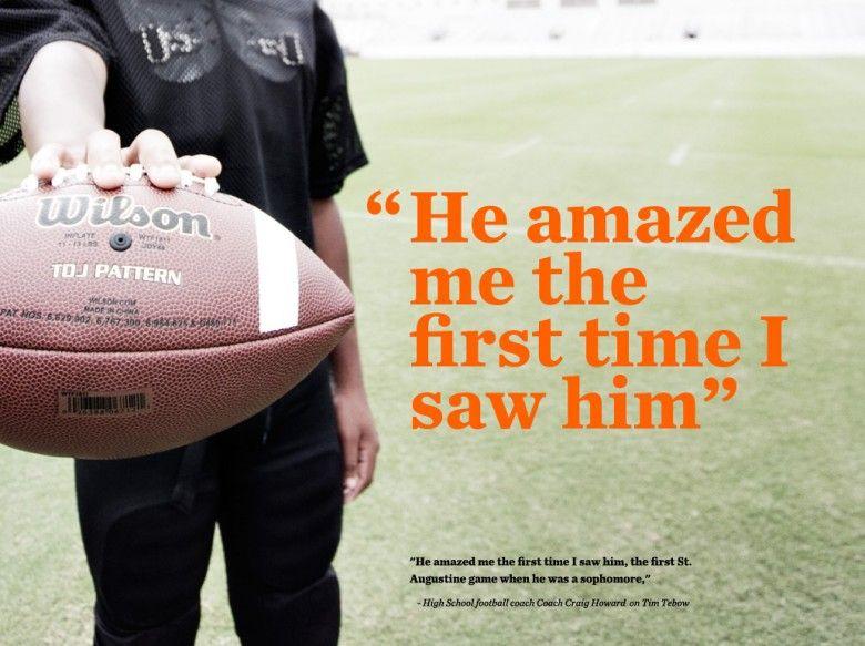 High school football coach Craig Howard on Tim Tebow ...