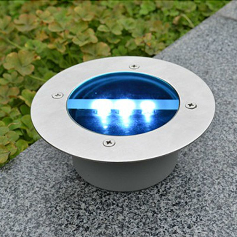 Buy solar power round recessed deck dock pathway garden led light buy solar power round recessed deck dock pathway garden led light with lowest price and top house landscapeled lights onlinelighting mozeypictures Gallery