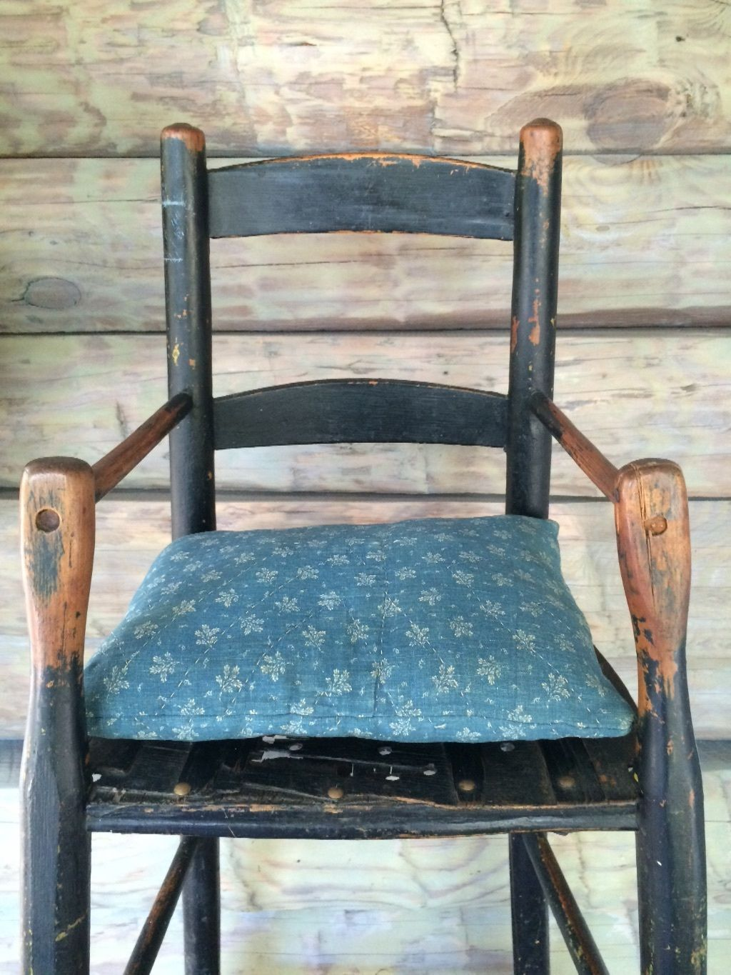 Aafa Early Primitive Antique Youth Child's High Chair With Early Black  Paint | eBay - Aafa Early Primitive Antique Youth Child's High Chair With Early