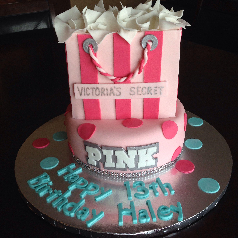Victoria\'s Secret PINK Birthday Cake | Birthday Cakes | Pinterest ...
