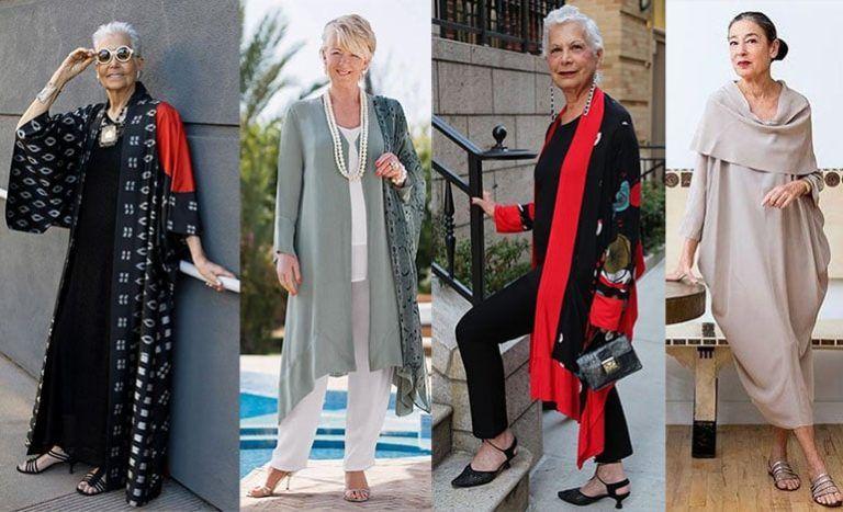 ? Как одеваться женщине в 60 - 65 лет стильно: фото ...