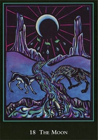 Word Spirit Tarot - Carl Jung defined our higher self as the