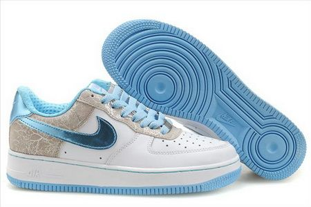 new concept f54af e916f Nike Air Force 1 Womens Easter Egg White Blue