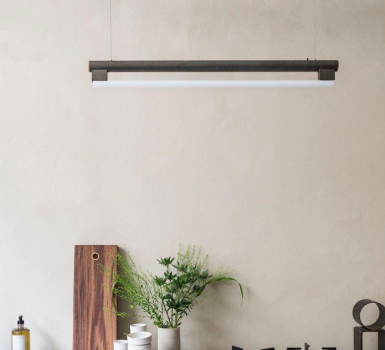 Designer Homeinterior Design: Suspension, Eiffel, Marron, LED, 2700K,990lm , L102,2cm