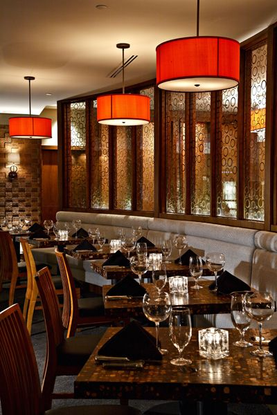 Chima Brazilian Steakhouse Philadelphia Lighting Design