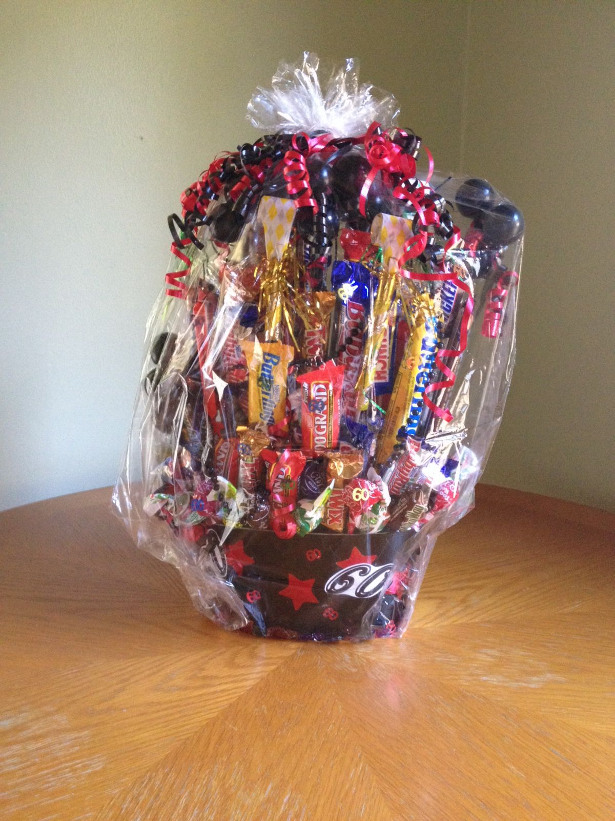 how to make a candy bouquet for a birthday