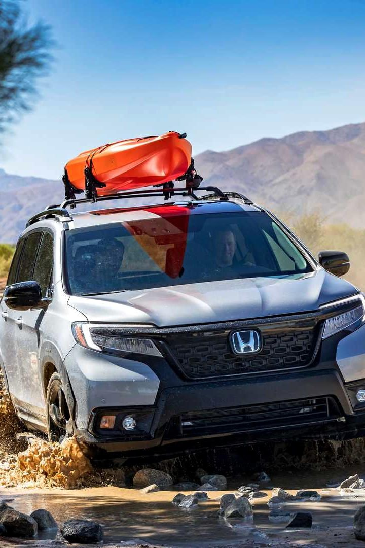 2019 Honda Passport revealed Honda passport, Honda, Passport