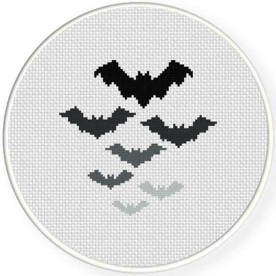 saved***printed***Bats | Not design | Pinterest | Punto de cruz ...