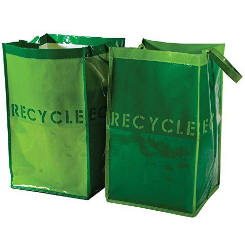 Recycle Bins For Home Classy Gus Recycle Bins For Home And Office Set Of 2 Waterproof Bags With Design Inspiration