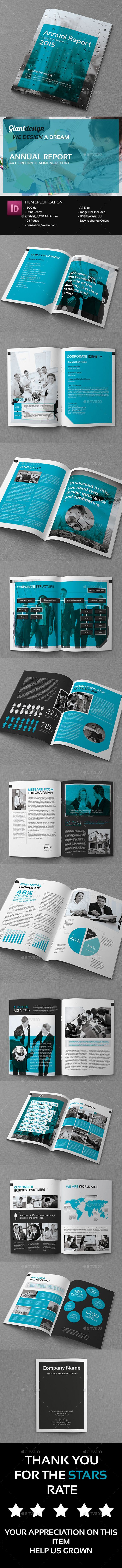 Annual Report  A Corporate Annual Report Brochure Is A Powerful