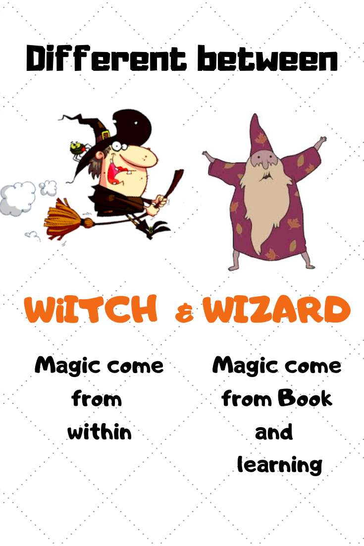 Witch Craft 101 The Main Differences Between Witch And Wizard Book Of Shadow Witchcraft Witch