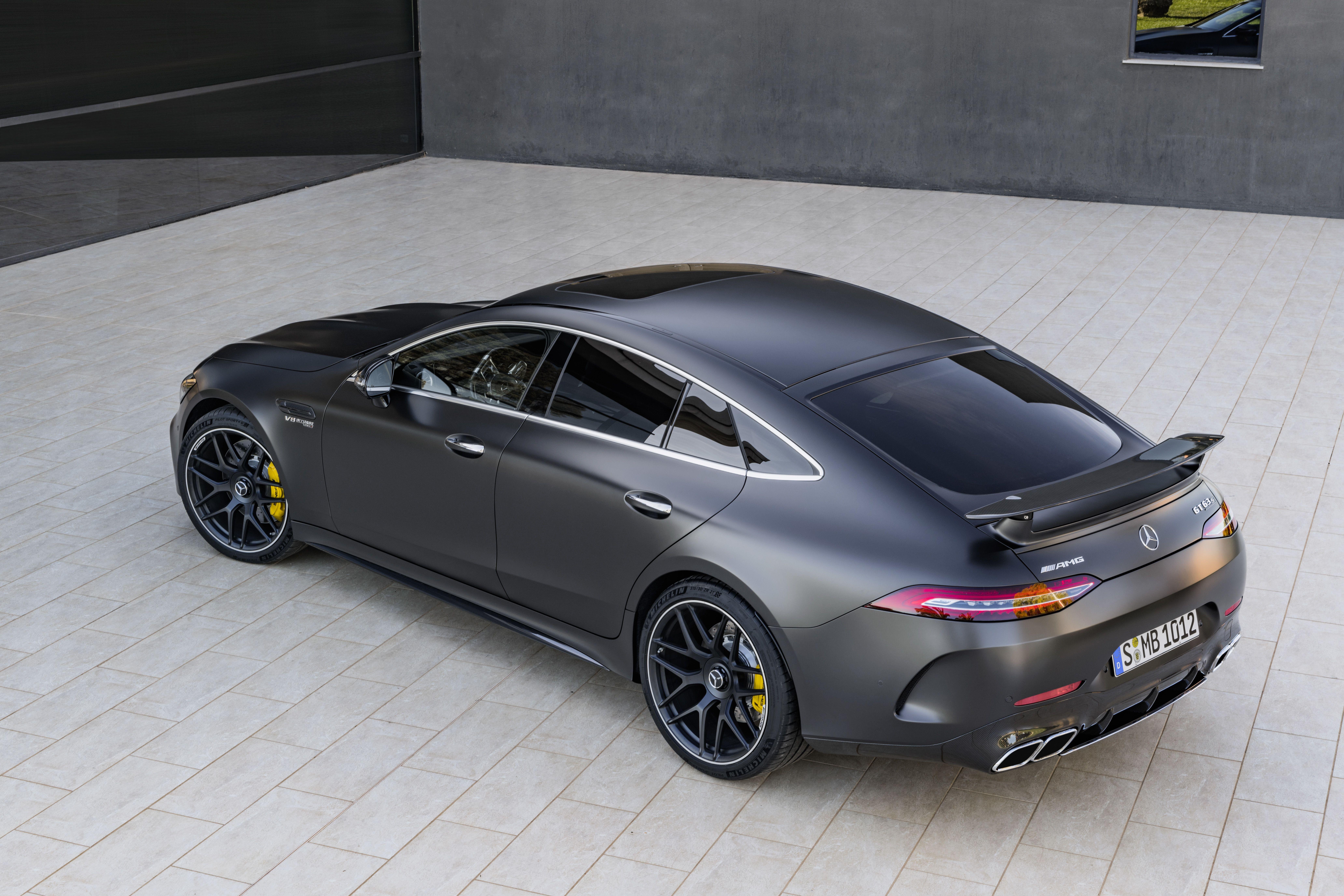 Mercedes AMG GT 4 Door Coupe 4 door sports cars