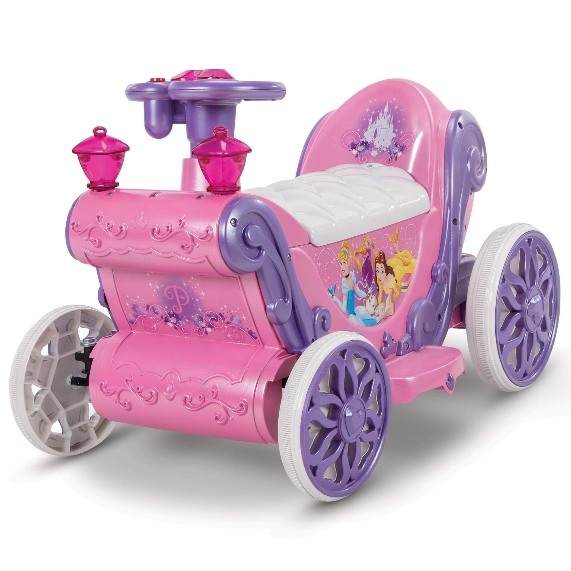 Kids Toddler Disney Princess ATV 6V Battery Operated