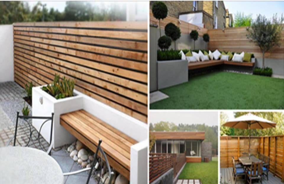 HORIZONTAL FENCE PANELS – MODERN GARDEN FENCE DESIGN IDEAS ...