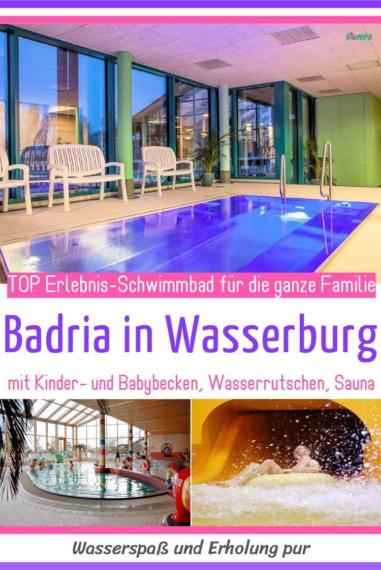 Badria Wasserburg Schwimmbader Hallenbader Und Wasserspielplatz