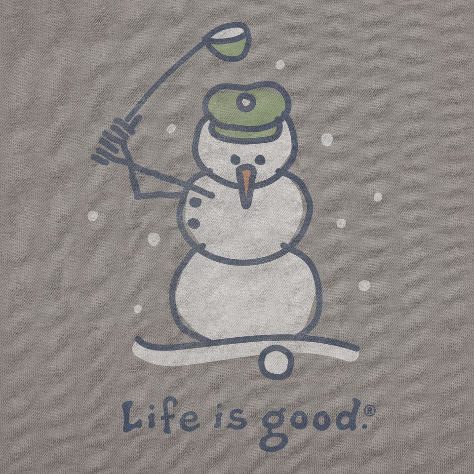 golf snowman porcelein golf mensen
