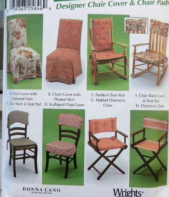 Simplicity 5952 Easy Sew Diy Chair Covers Home By Clutterina Diy