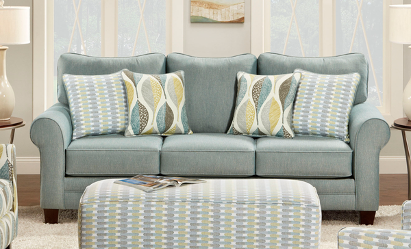 The right mix of inviting and elegant, use this sofa to upgrade the style and comfort of your living room!