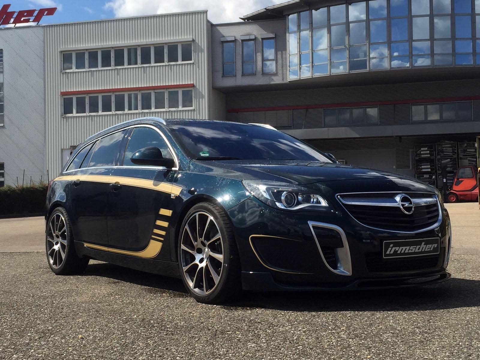 Opel Insignia Opc Sport Tourer By Irmscher Opel Kombi Autos Bmw 1er