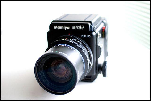 Hello Monster by mechanics, via Flickr  Mamiya RZ67 Professional IID