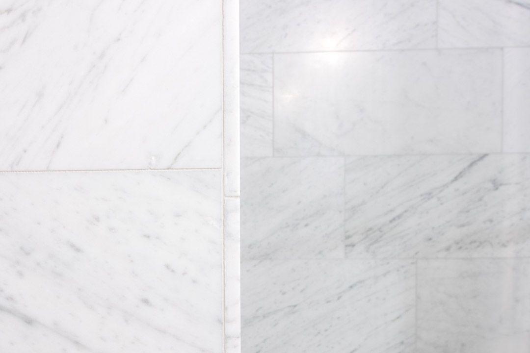 Travertin Vloer Badkamer : Bianco carrara gezoet badkamer bathroom marmer marble