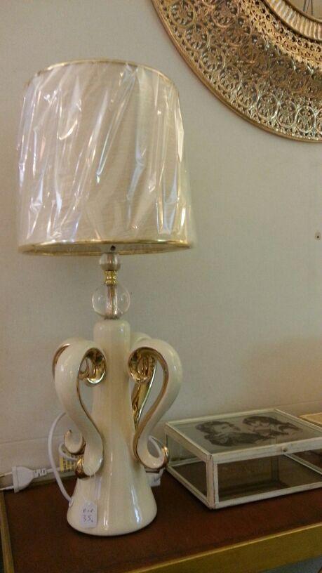Lámpara Dorada En Tienda Original Malaga Lámparas Pinterest