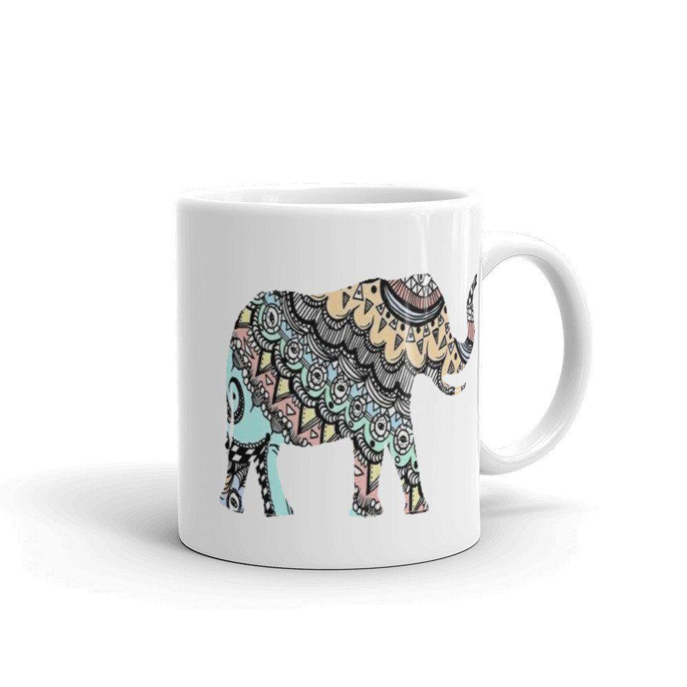 Elephant mug mugs elephant mugs ceramic mugs