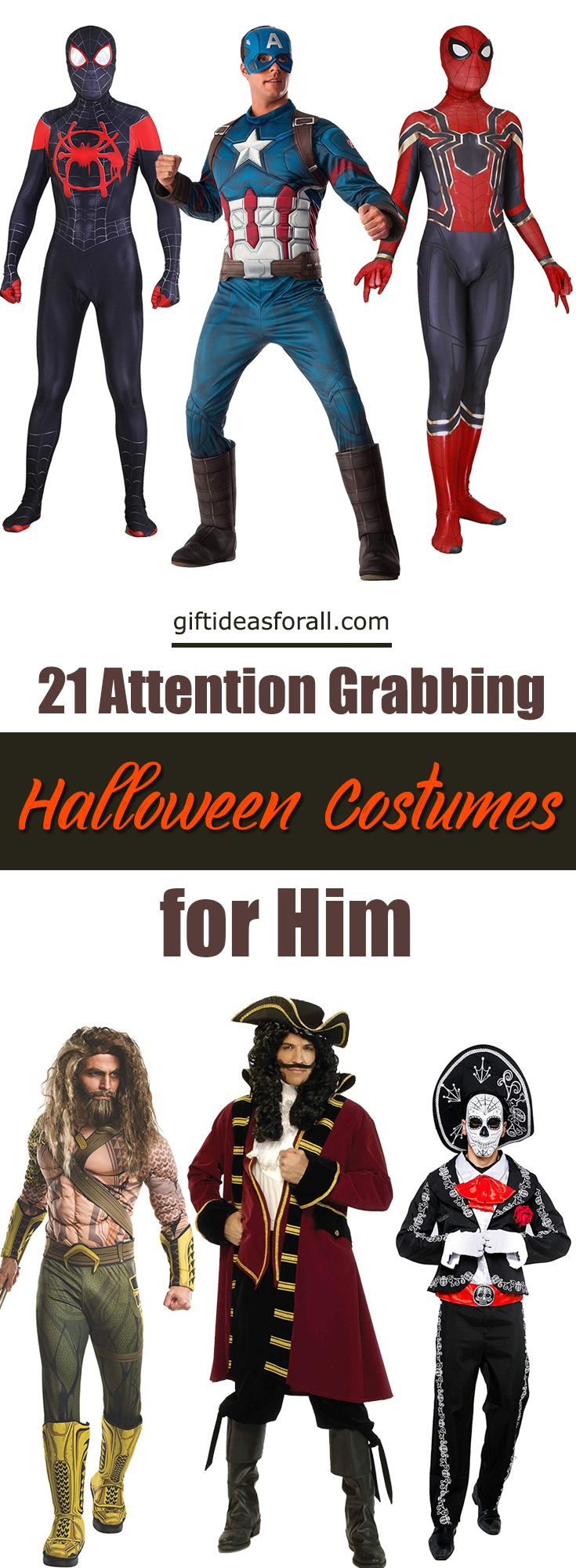 21 Attention-grabbing Halloween Costume Gift Ideas for Men #halloweencostumesformen