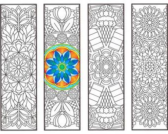 Coloring Bookmarks Mushroom bookmark coloring page by CandyHippie