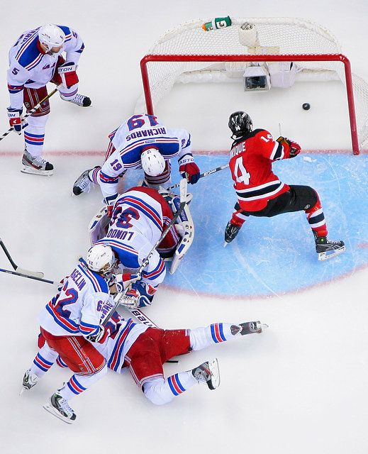reputable site 3bb10 99644 New Jersey Devils vs. New York Rangers Game 6 of the 2012 ...