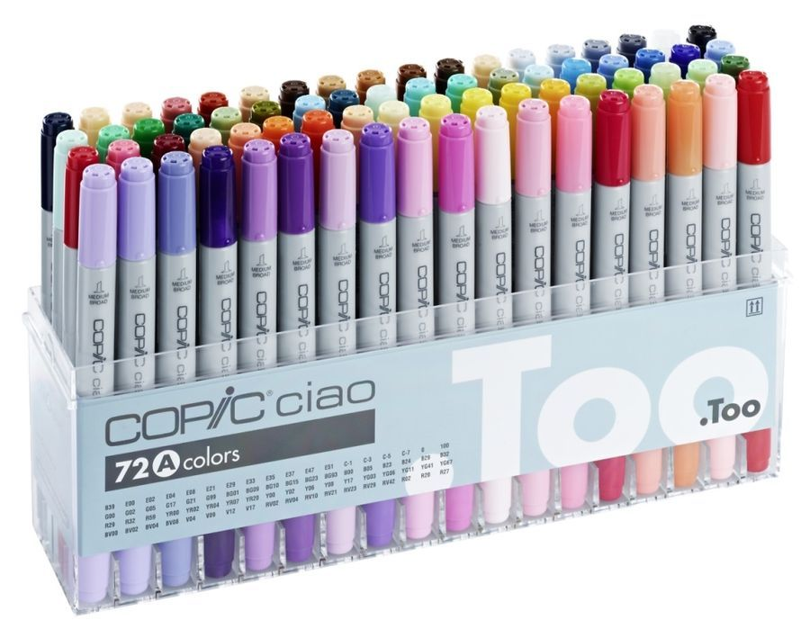 Copic Sketch Marker PenDouble-Ended MarkersRefillableVariety of Colours