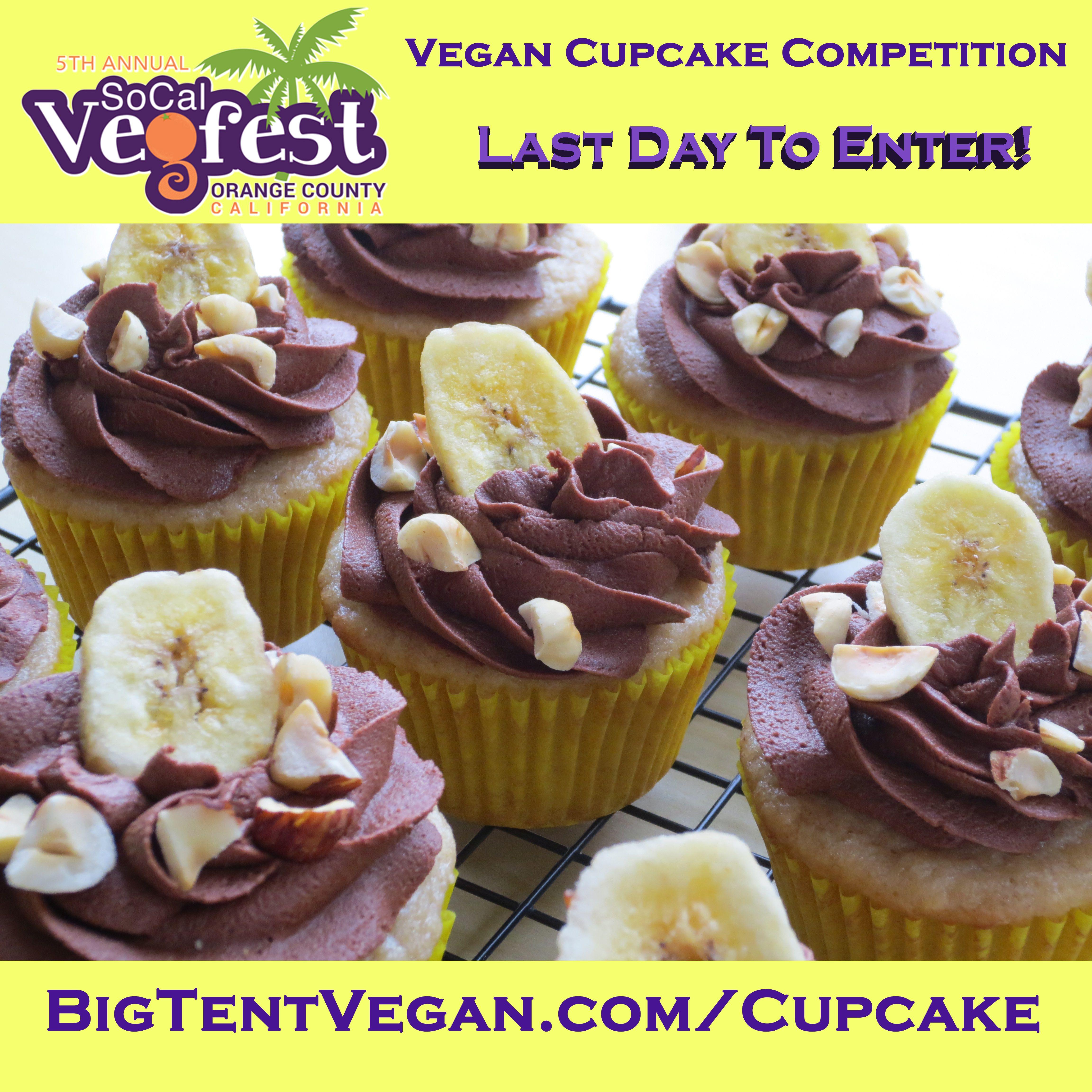 2019 Socal Vegfest Vegan Cupcake Competition Costa Mesa Ca Usa Vegan Cupcakes Cupcake Delivery Food