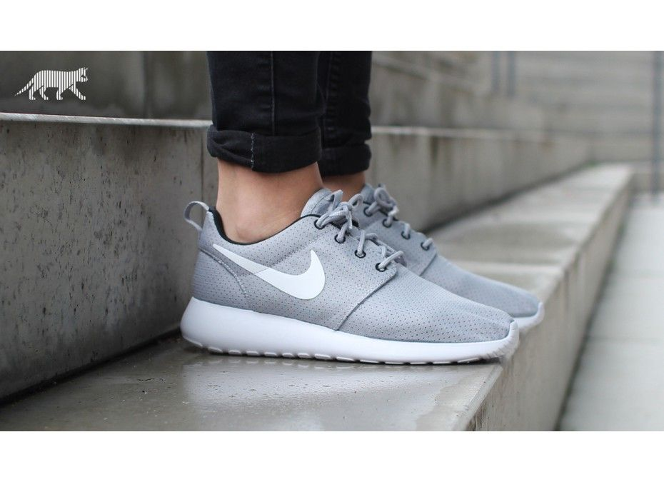 Nike WMNS roshe run - Wolf grey