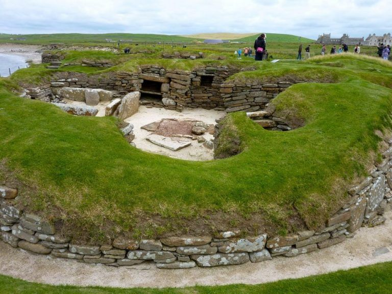 The oldest preserved furnished houses in the world. Skara Brae, The Orkney Islands, Scotland. | moco-choco