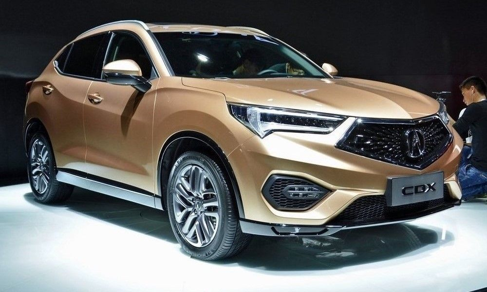 acura cdx small suv debuts in china. Black Bedroom Furniture Sets. Home Design Ideas