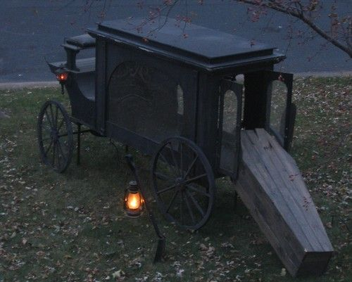 The Death Coach, also known as the Coach-a-bower or Coshta-Bower, is a staple in Irish folklore. It is a large, black horse drawn hearse, pulled by six black stallions. In some tellings of the story, these stallions have no head..