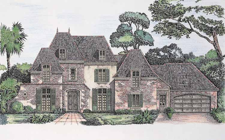 eplans chateau house plan - envy of every neighborhood - 4191
