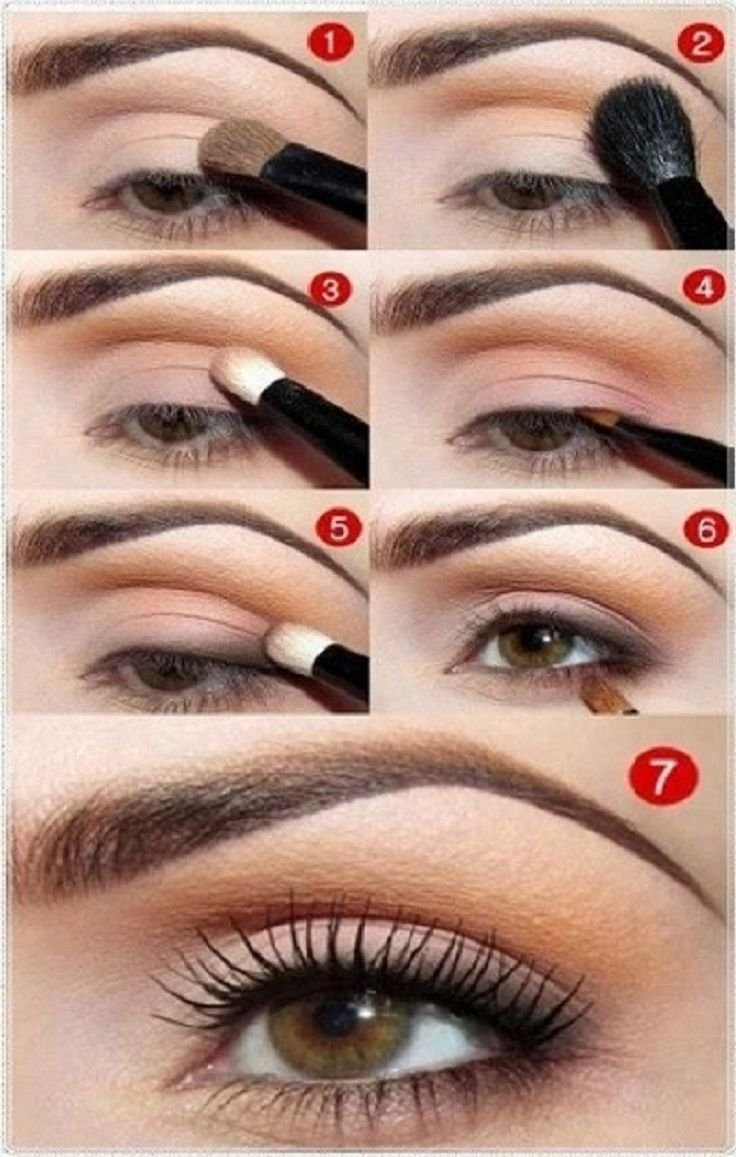 7 makeup tutorials for seductive eyes | things to wear | pinterest