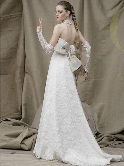 designer-made bridal gowns Acquachiara Brand