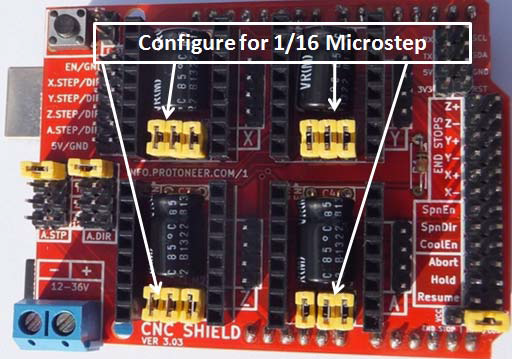 Grbl Cnc Shield For 3 Axis Cnc Machine The Arduino Cnc Shield Makes It Easy To Get Your Cnc Projects Up