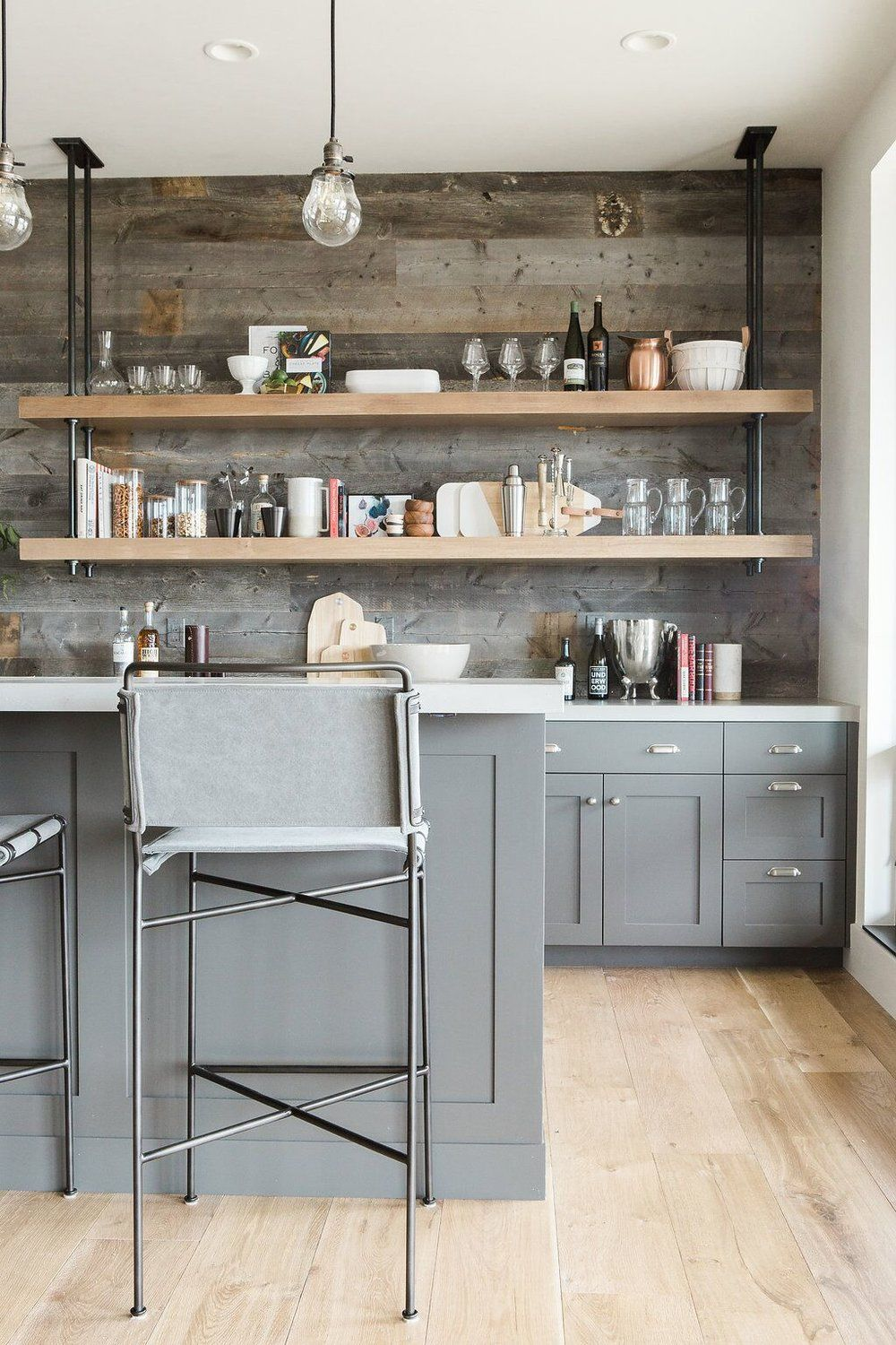 trends we're loving: open pipe shelving | kitchens | bars
